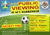 Public Viewing Halbfinale 2