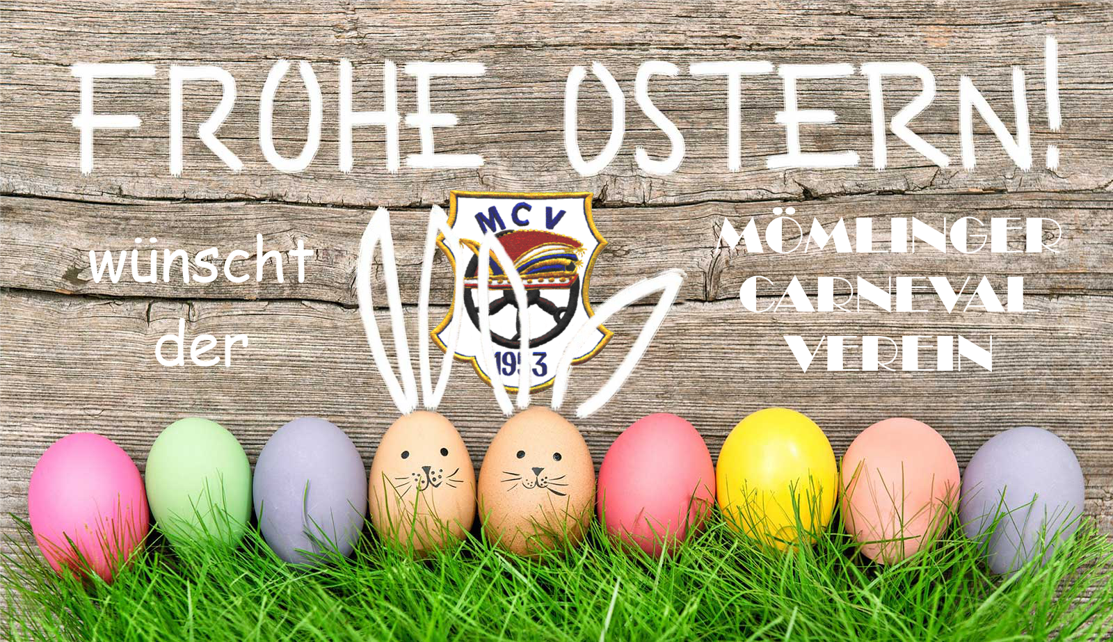 Frohe Ostern MCV
